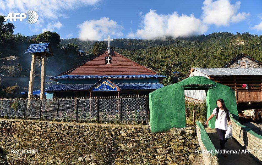 Despite conversion ban, Christianity spreads in Nepal