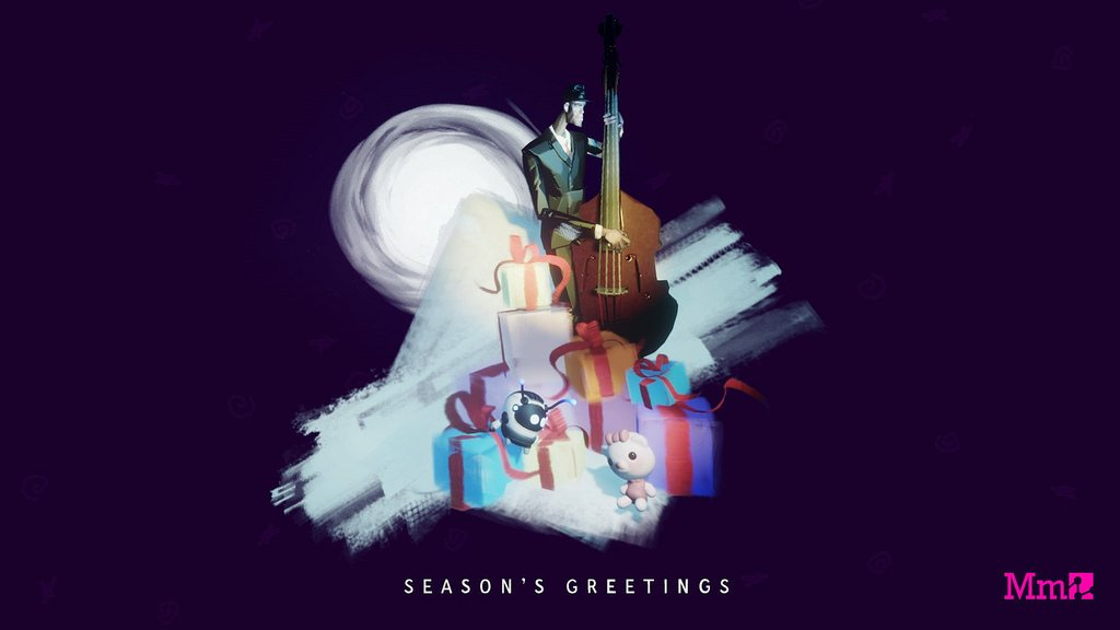 Season's greetings from @mediamolecule. Here's to making all of your Dreams come true: https://t.co/uJWshU7tge https://t.co/9aILoPyK2V