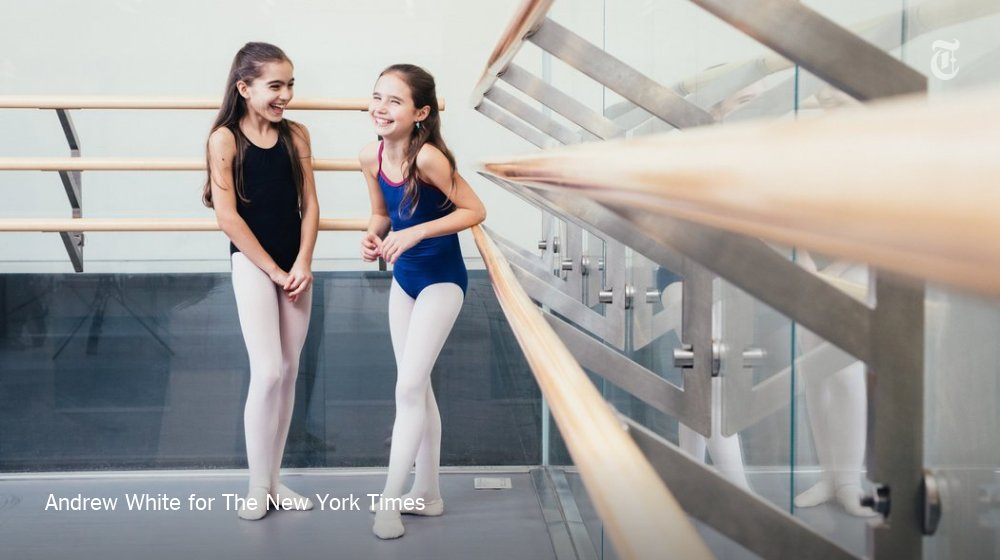 "Each year 2 lucky girls are cast to play Marie in New York City Ballet's ""Nutcracker"""