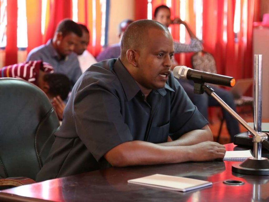 I will protect Wajir water towers, Chief Officer nominee vows