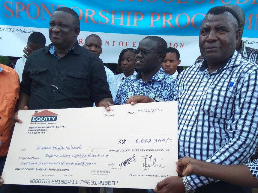 Mvurya issues Sh43.5 million school fees for Kwale form ones