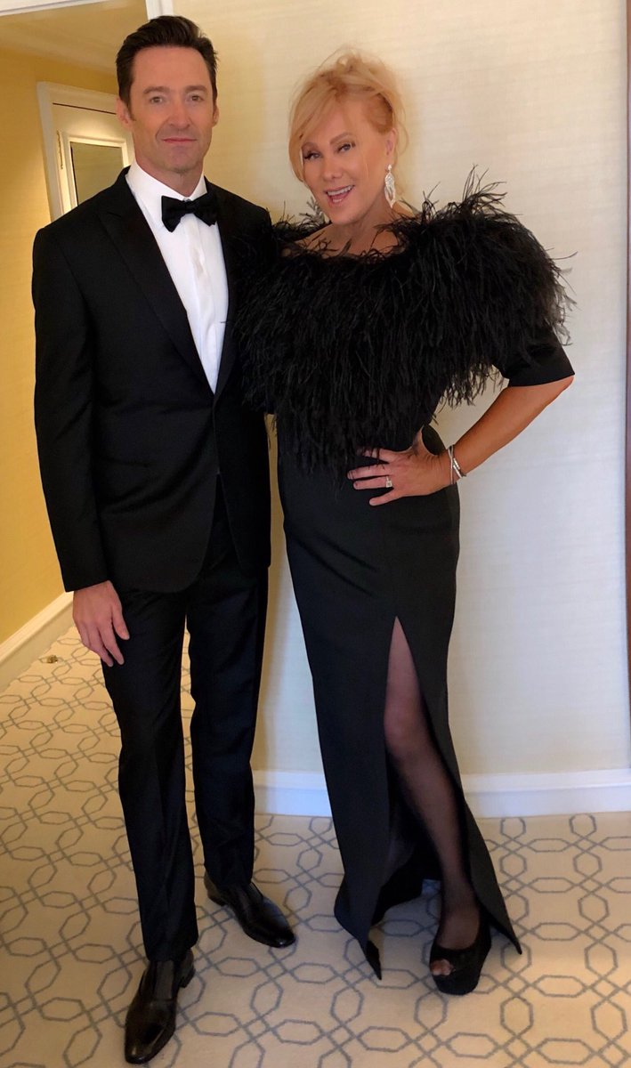Off to the @goldenglobes ... with my @Deborra_lee @GreatestShowman https://t.co/PgQhrkbR5f