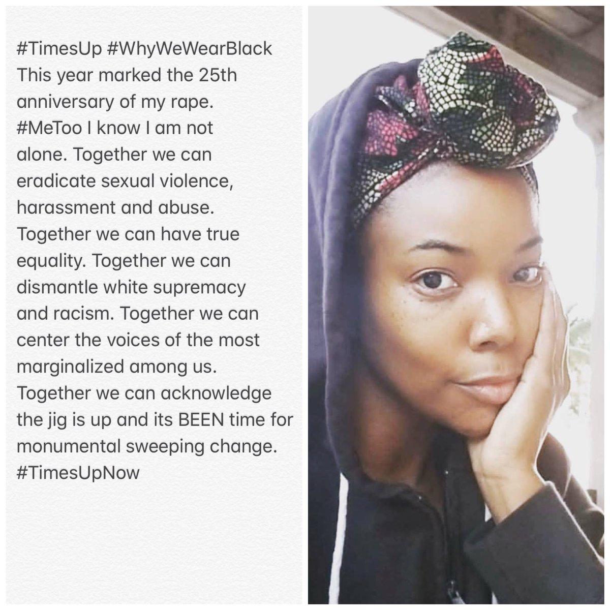 #TimesUp #WhyWeWearBlack https://t.co/POiqek9ofL