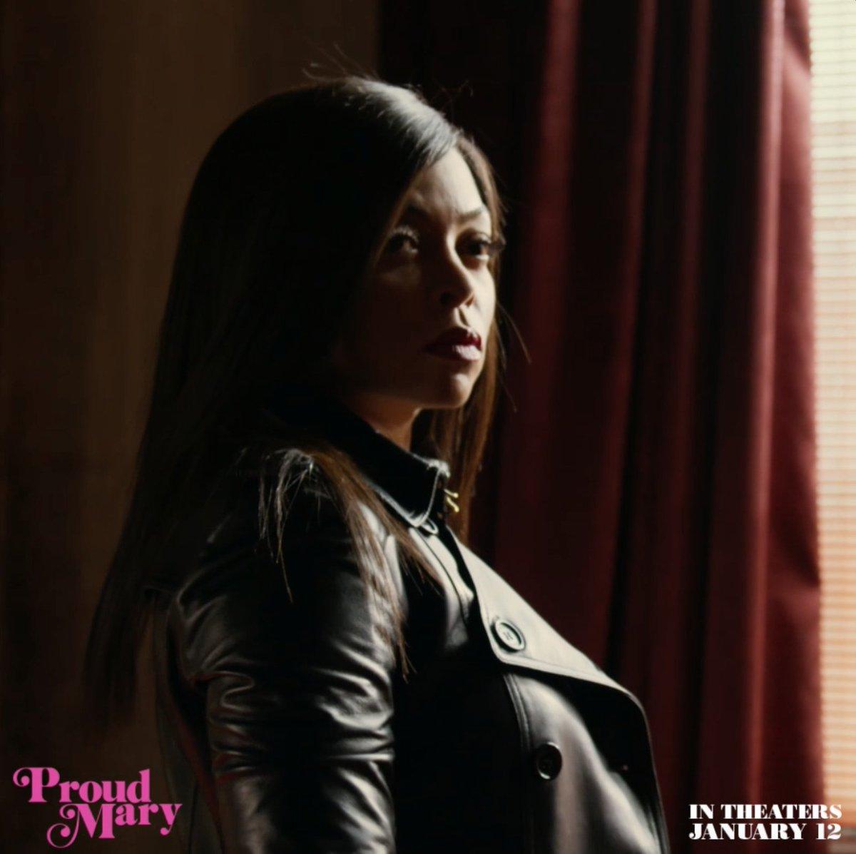 RT @GeeksOfColor: 'Proud Mary' hits theaters tonight! We gotta support Taraji P Henson! Go see it! #ProudMary https://t.co/jELZAFqB3e