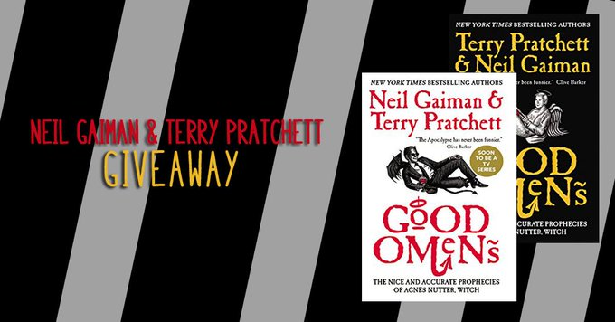 #Fantasy #Giveaway – #Win 2 #NailGaim and #TerryPratchett Novels! #Bookaddict #FREEbooks