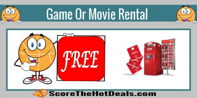 *F*R*E*E* Redbox Game Rental!free freebies freebie redboxdeals savings coupons