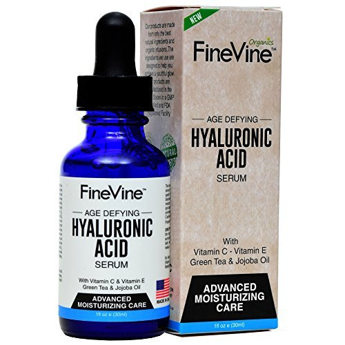 Hyaluronic Acid Serum for Skin – Made in USA – Anti-Aging Serum for Intense...