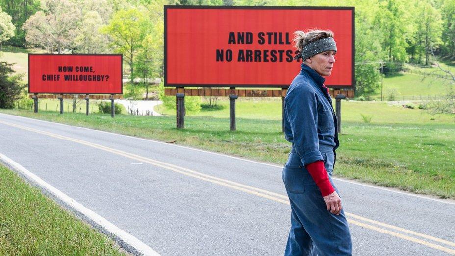ThreeBillboards named best film at Australian Academy's International Awards