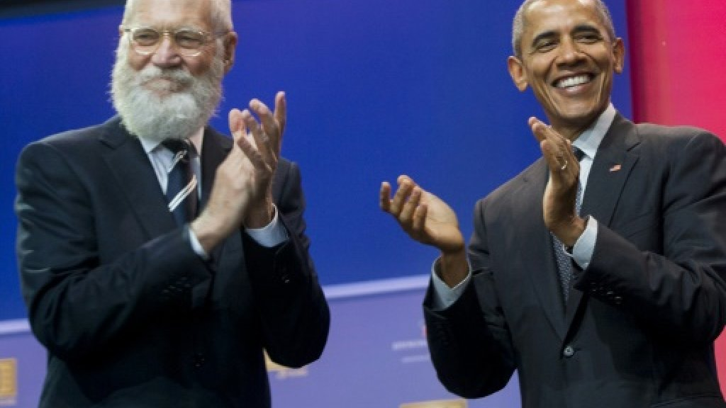 David Letterman returns to TV with Obama interview