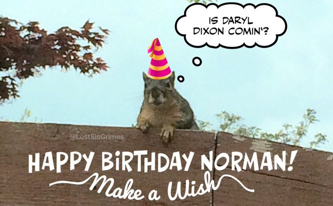 Norman Reeduss Birthday Celebration Happybday