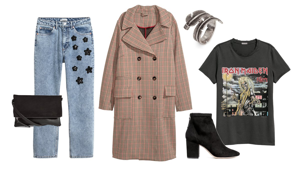 Shop our latest arrivals in store and online for a rock-chic wardrobe update! #HM https://t.co/swu2F3oaZj https://t.co/OV3qIDearf