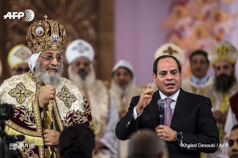 Egypt Copts hold Christmas mass under tight security