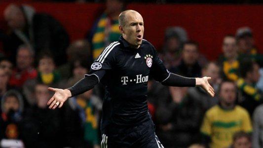 Bayern Munich troll Man Utd after Robben volley