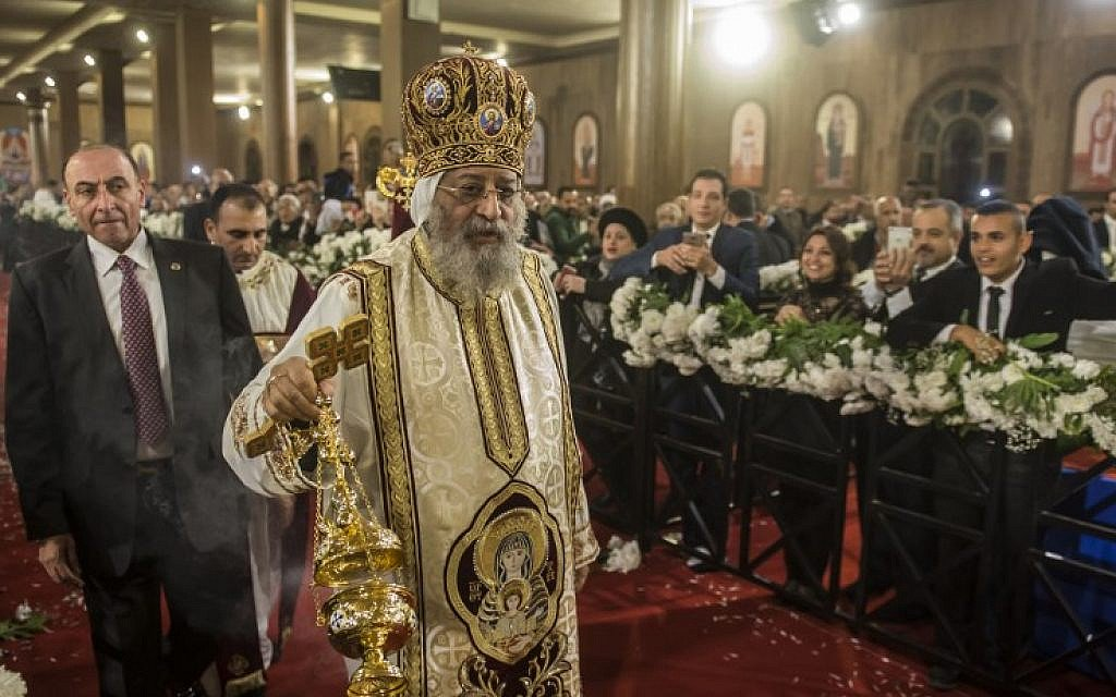 Egyptian Copts mark Christmas Eve after bloody year