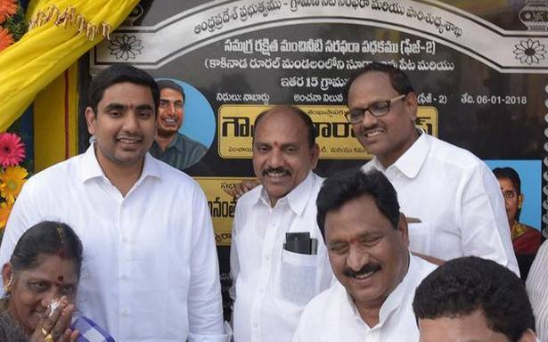 Drinking water for all by end of 2019: Lokesh