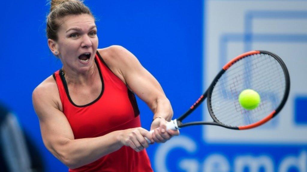 Halep fires Australian Open warning with Shenzhen title
