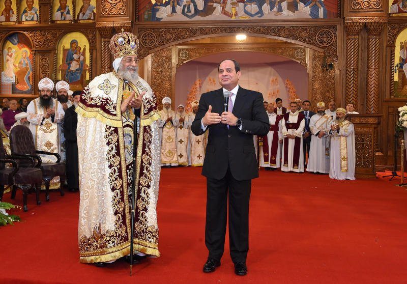 Egypt's Coptic Christians celebrate Christmas amid tight security