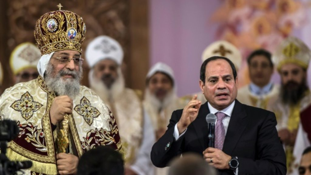 Egypt Copts mark Christmas Eve after bloody year