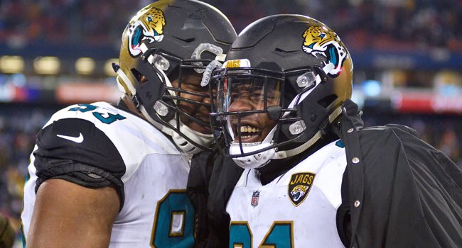 Best of luck to the @Jaguars, London's home NFL team, during today's @NFL playoffs game against the Bills! @nflUK https://t.co/JrLhzvpYWN