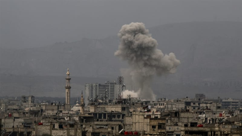 Deadly air strikes hit Syria's Eastern Ghouta