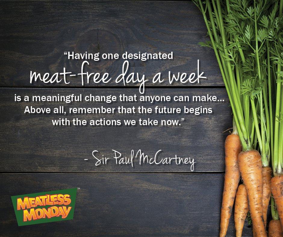 #MeatlessMonday
