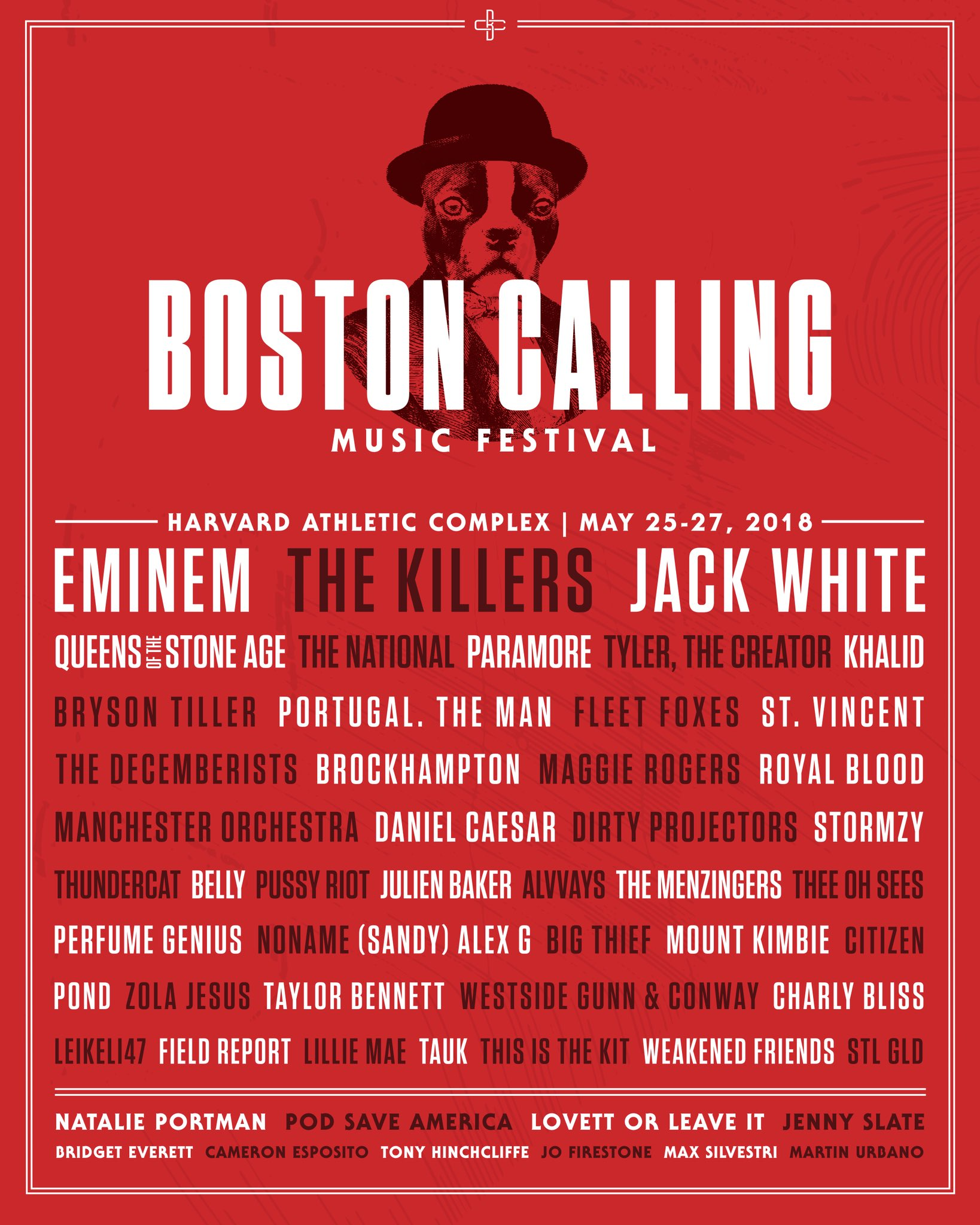 We hear you calling, Boston. https://t.co/pfKgeD0zEo https://t.co/ew5WInVcCe
