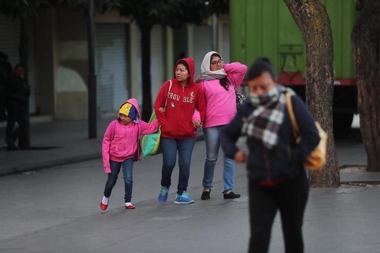 Unos 181 guatemaltecos buscan refugio por frío