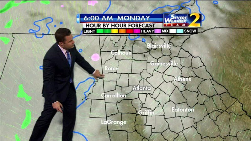 Freezing rain, ice could affect morning commute
