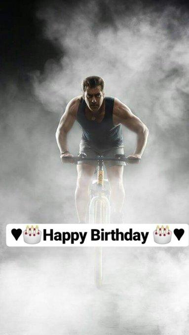Happy Birthday Salman Khan sir