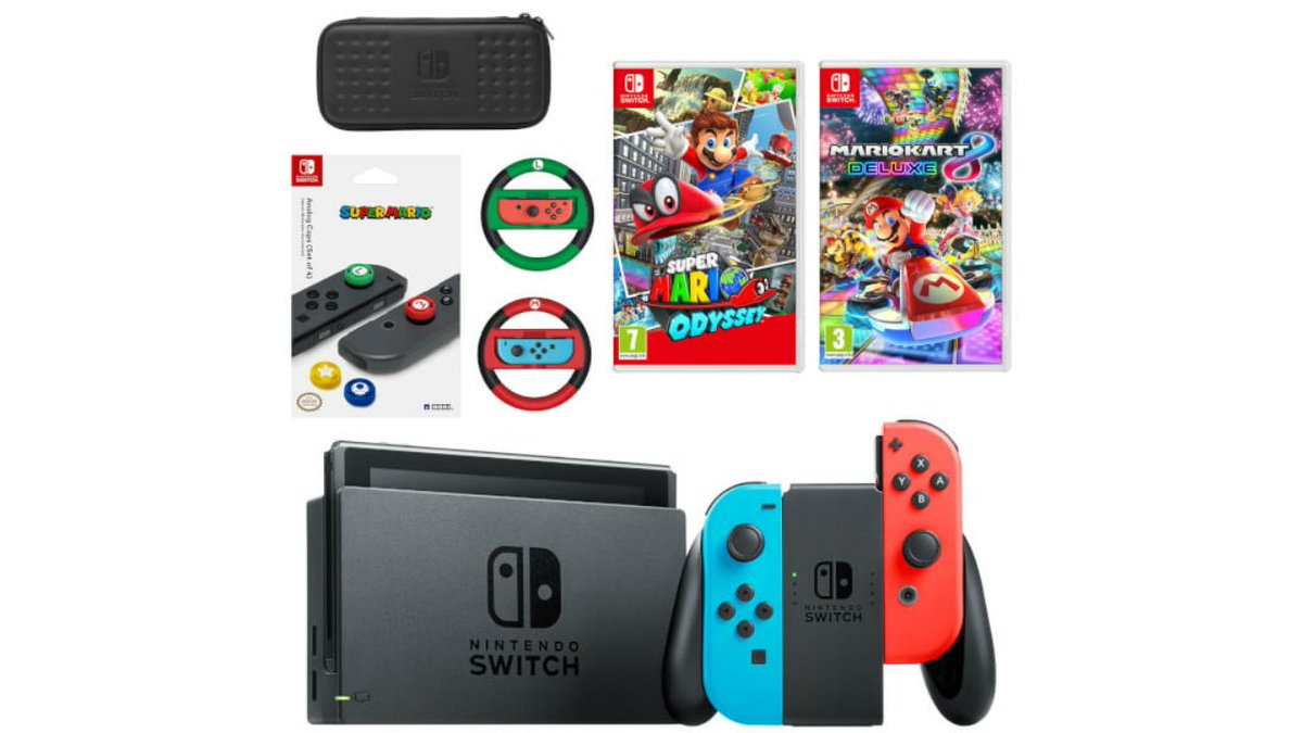 Best Boxing Day Gaming Deals 2017 Nintendo Switch Super Mario Switchsuper Odyssey Kart