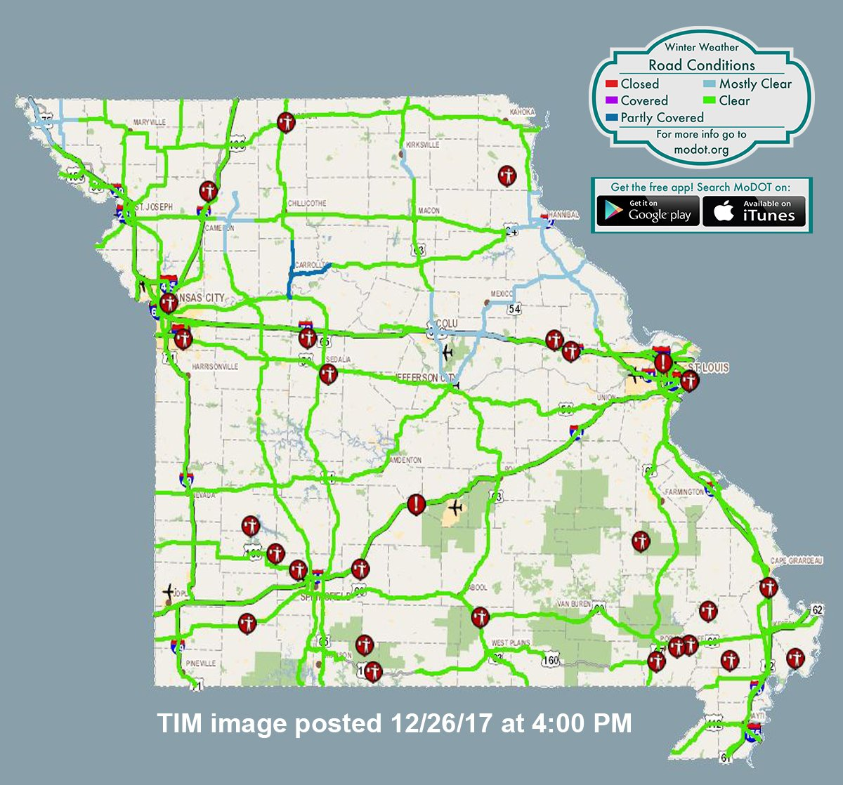modot map road conditions map modot traveler information for  - jerome mo road conditions with driving and traffic flow check the modottraveler information map