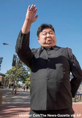 Meet the Kim Jong Un impersonator turning heads in South Korea.