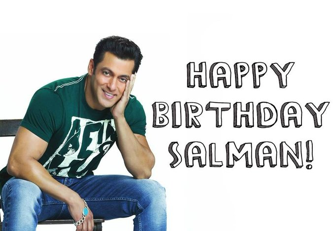 Happy birthday my all time favourite handsome hunk.. A man with golden heart SALMAN KHAN