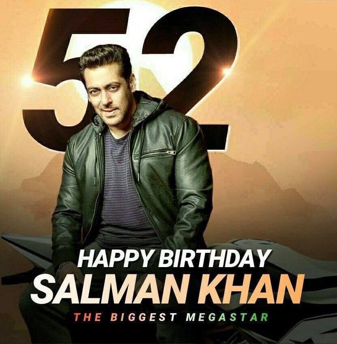 Happy birthday being Salman Khan stay young forever