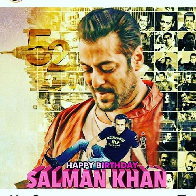 HaPpy Birthday Salman Khan...