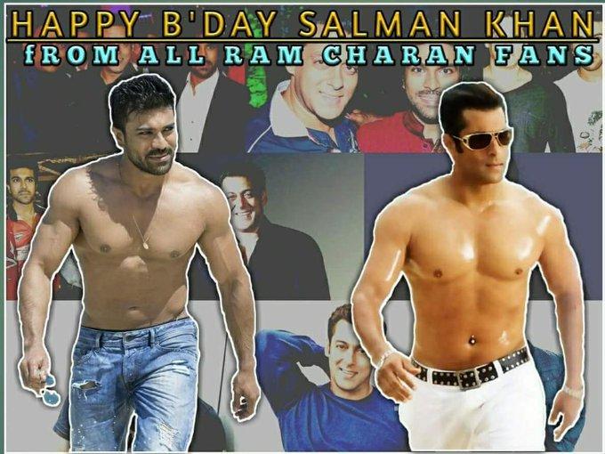 Happy birthday salman Khan from all RC Fans....