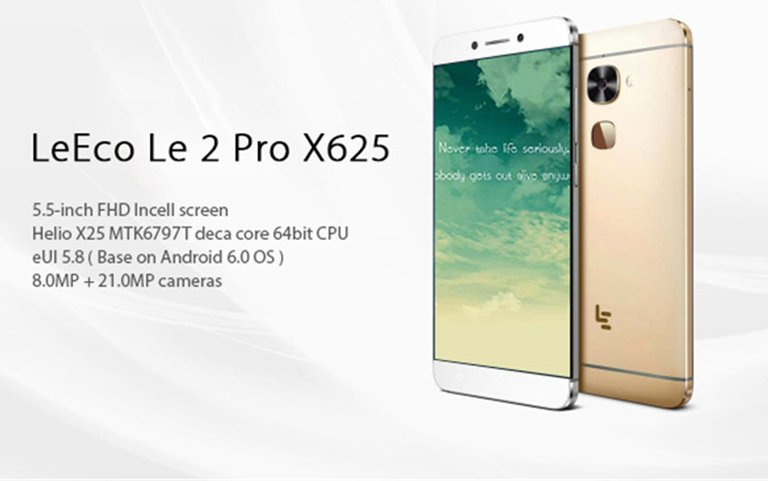 #LeEco Le 2 Pro X625 phone is $126.75 only. Multi-language. 21.0MP, Sony...