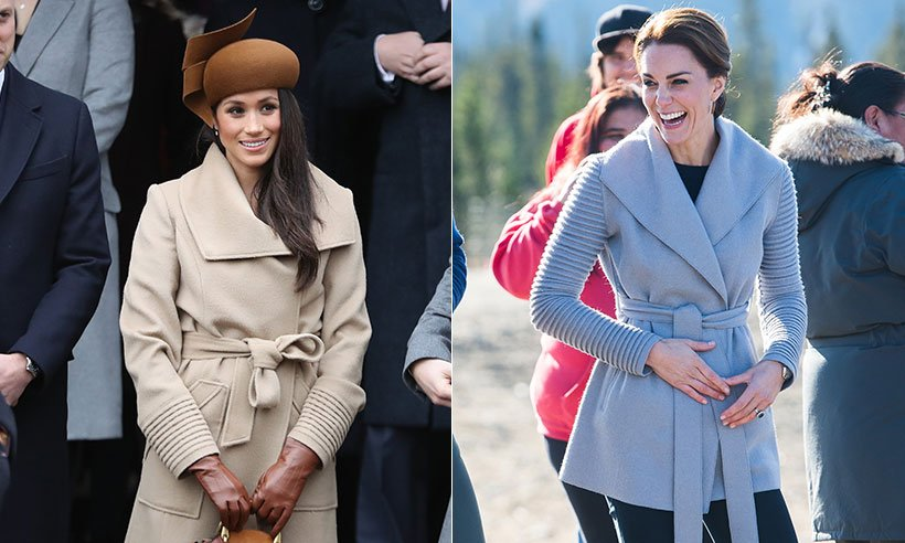 Why Meghan Markle's Christmas day camel coat looked familiar:
