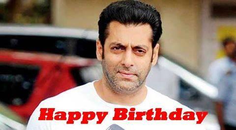 wishing Happy Birthday Salman Khan