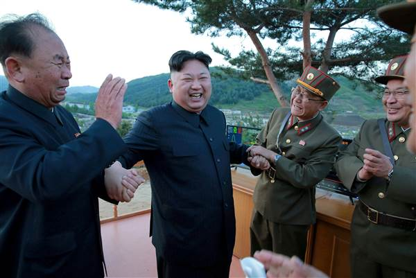 U.S. sanctions North Korea missile experts as Russia offers to mediate