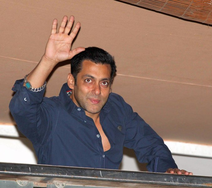 Wish you very very happy birthday Salman khan