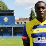 England-based Kenyan footballer hang boots