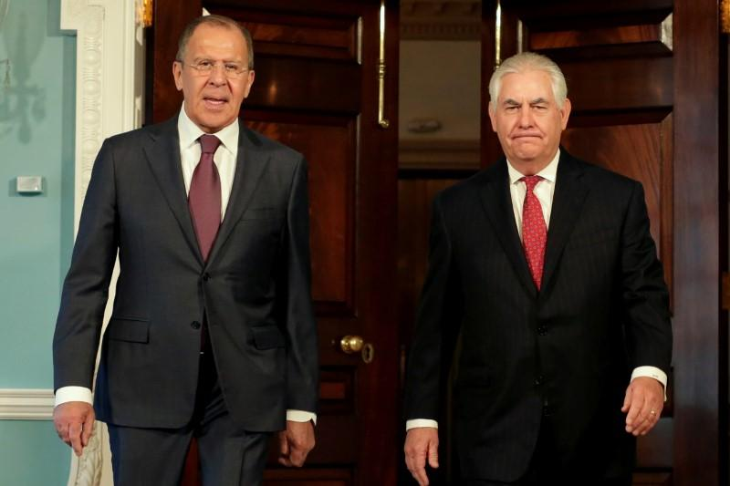 Tillerson, Lavrov agree to continue North Korea diplomacy: U.S. State Department