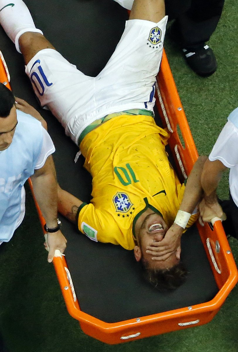 Neymar Says He Almost Lost Ability to Walk from 2014 World Cup Back Injury