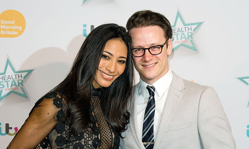 Kevin Clifton spent Christmas with his sister this year: