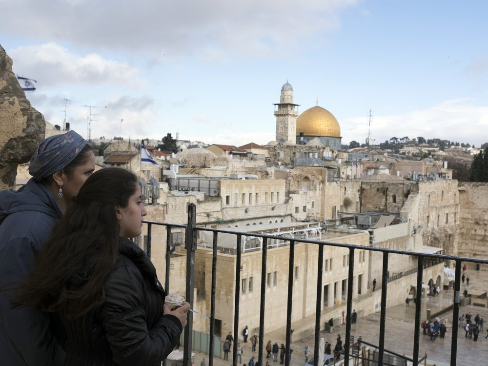 Israel minister wants to name planned Western Wall train station after Donald Trump