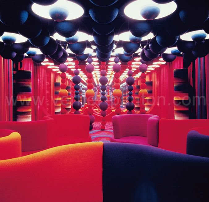 I'm sexually attracted to the work of Danish designer Verner Panton https://t.co/ug3a58aDaz