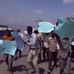 Maungu residents protest KWS eviction notice for Tsavo East park