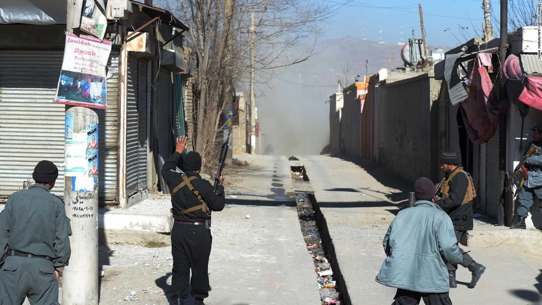 ISIS claims responsibility for deadly Kabul suicide attack