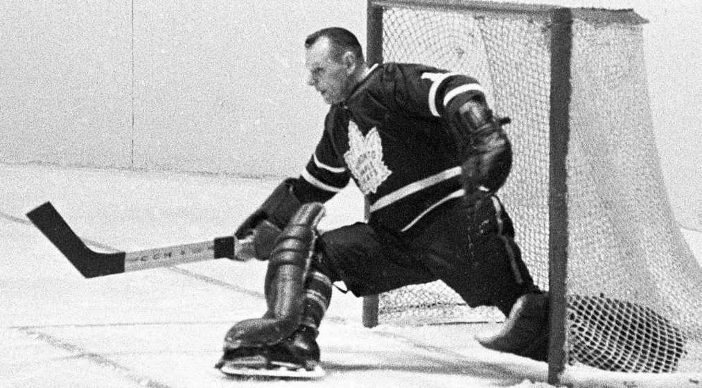 Johnny Bower wore #1 for a reason